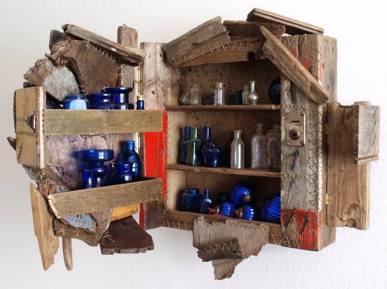 Möbel aus treibholz  Iven Einszehn - ALL YOU CAN ART - Aus Treibholz genähte Möbel