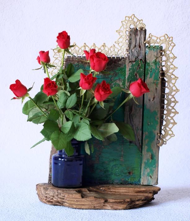 Kleines Wand-Blumendingsbums