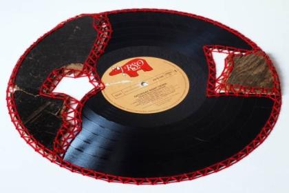 Restaurierte Schallplatte Nr.14